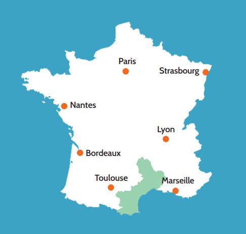 La Camarga Francesa Mapa.Turismo Fluvial Francia La Camarga